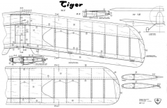 Tiger by Wik Modelle model airplane plan