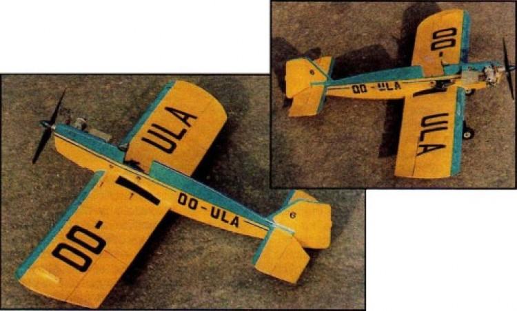 Tipsy Junior model airplane plan