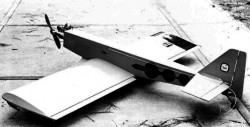 Toad model airplane plan