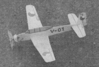 Tom 8 model airplane plan