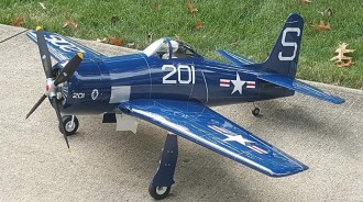 Top Flite F8F Bearcat model airplane plan