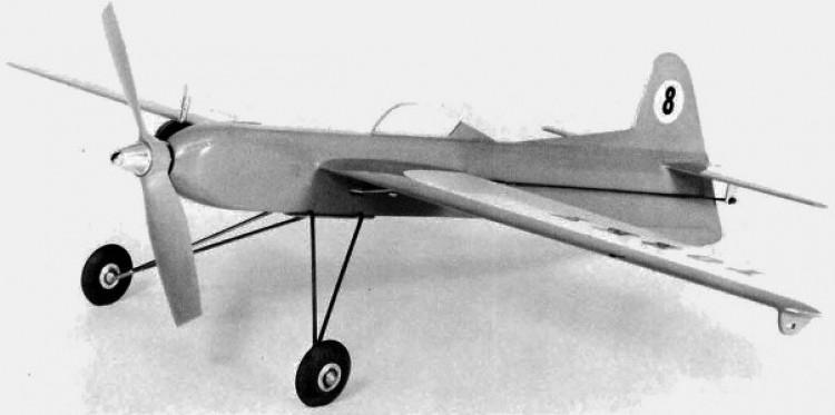 Torky model airplane plan