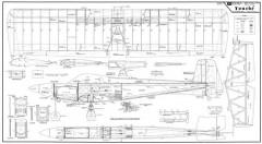 Touche model airplane plan