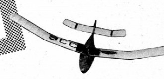 Towline glider 1946 model airplane plan
