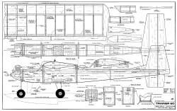 Bridi Trainer 60 model airplane plan