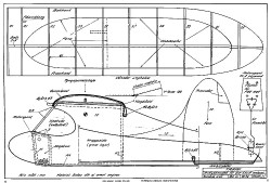 Trapp 30in model airplane plan