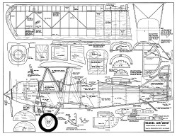 Travel Air 2000 model airplane plan