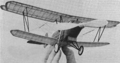 Travelair 2000 model airplane plan