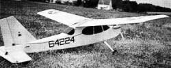Trener 10H model airplane plan