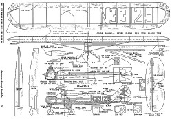 Tri Pacer Trainer model airplane plan