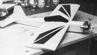 Tryk 16 model airplane plan