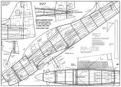 Tucano 46in model airplane plan