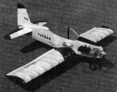 Tucnak model airplane plan