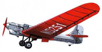 Tupolev Ant 25 model airplane plan