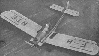 Turbulent model airplane plan