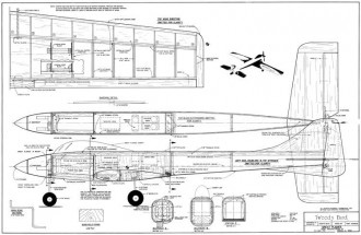 Tweedy Bird model airplane plan