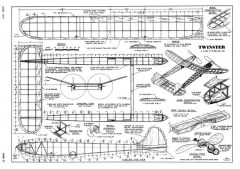 Twinster-AT-06-47 model airplane plan