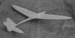 Two Line Glider model airplane plan
