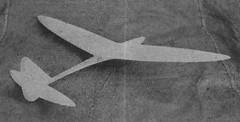 Two Line Glider model airplane plan