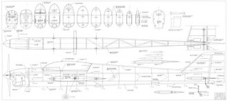 Typhoon model airplane plan