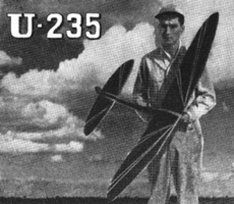 U-235 model airplane plan