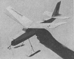 Univerzal model airplane plan