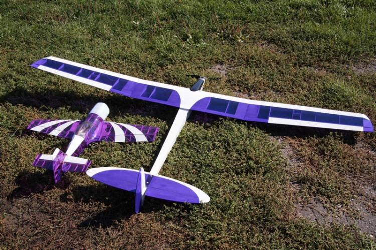 Lazy Glider model airplane plan