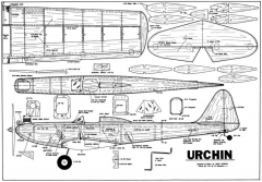 Urchin model airplane plan