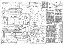 Ursinus model airplane plan
