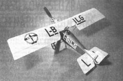 VBS Kunkadlo model airplane plan