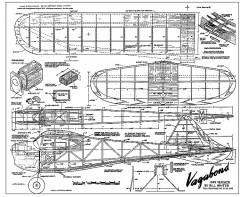 Vagabond model airplane plan