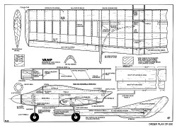 Vamp model airplane plan
