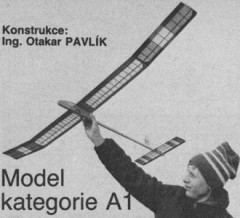 Vcelka model airplane plan