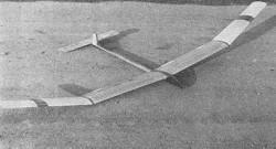 Vega model airplane plan