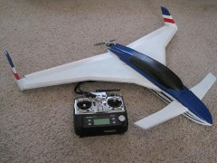 Velociraptor model airplane plan