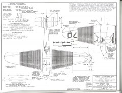 Velville-Sperry R-3 model airplane plan
