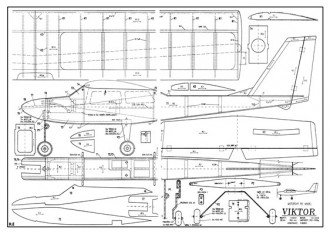 Viktor model airplane plan