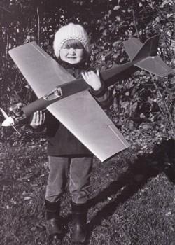 Virus model airplane plan