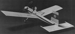 Volkplane model airplane plan