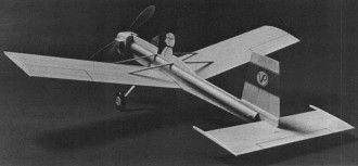 Volkplane model airplane plan