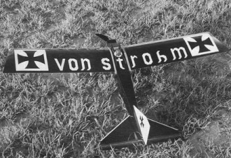 Von Strohm model airplane plan