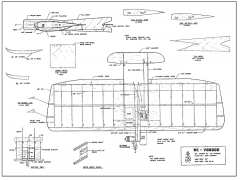 Voodoo RC AAM model airplane plan