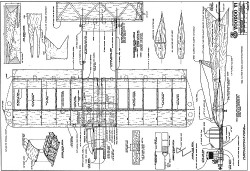 Voodoo VI model airplane plan