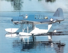 Vought OS2U Kingfisher model airplane plan