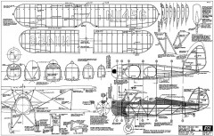 Waco RNF model airplane plan