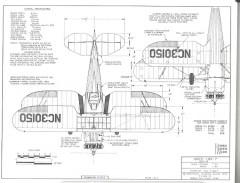 Waco UPF-7 model airplane plan