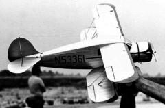 Waco YKS-6 model airplane plan