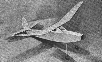 Wakefield 1950 model airplane plan