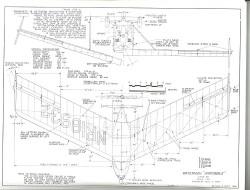 Waterman Arrowbile model airplane plan