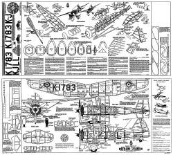 Westland Lysander Whitman model airplane plan